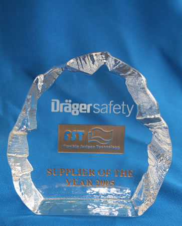 Drager supplier of the year award 2005